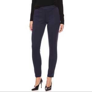 THEORY Womens size 14 navy blue pin tuck pants
